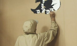 Banksy at work?