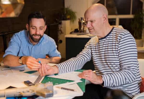 Stuart Jeffries takes kirigami tips from Marc Hagan-Guirey