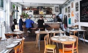 Photograph of Brawn restaurant.