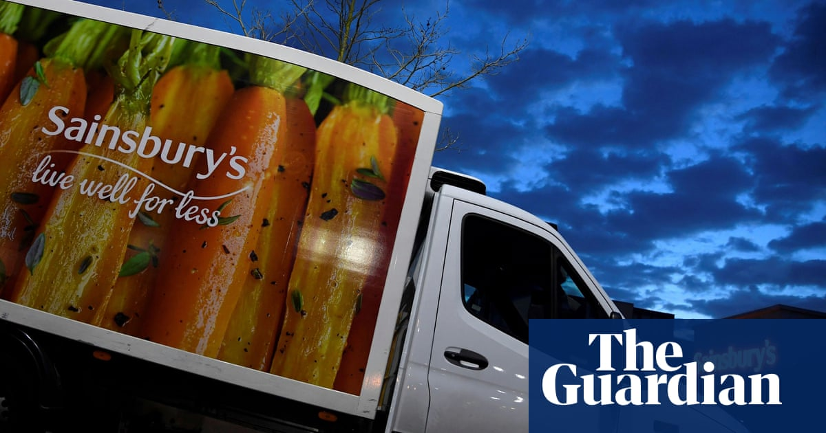 Sainsbury S Reports Rise In Grocery Sales And Surge In Online Orders Business The Guardian
