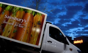 Sales at Sainsbury's established stores rose by 8.2%.
