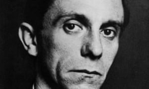 Joseph Goebbels, the German propaganda minister, photographed in about 1940.