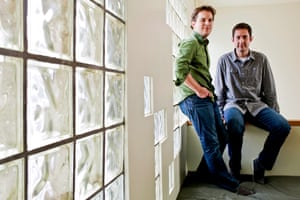 mike krieger and kevin systrom at the instagram offices in san francisco