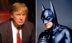 donald trump and batman