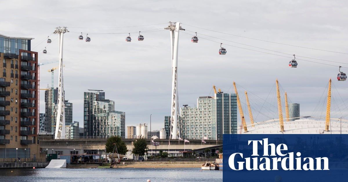 London's Royal Docks 'just keeps changing' – as a new outdoor show reveals