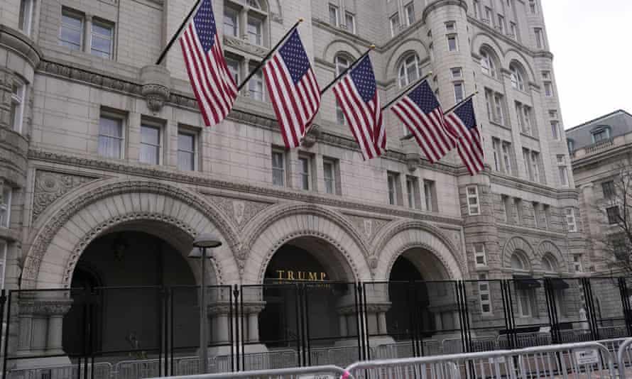 Trump Hotel in Washington DC.