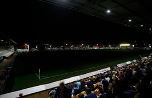 Lights out at the Pirelli Stadium.