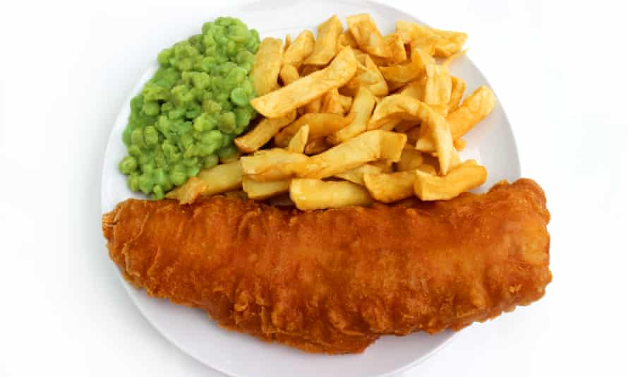 Fish and chips could also be affected by plastic contamination.