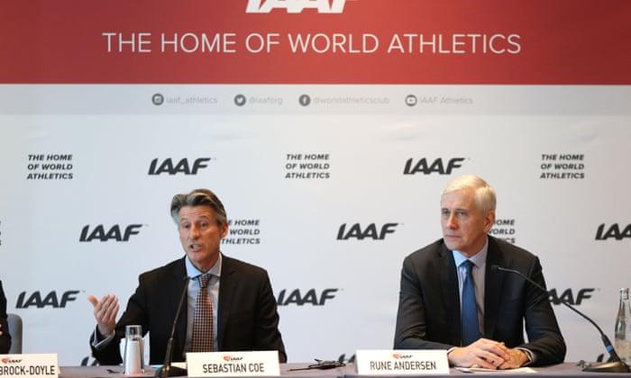 """""""Esta dívida deve ser liquidada"""": IAAF estende proibição de doping da Rússia"""