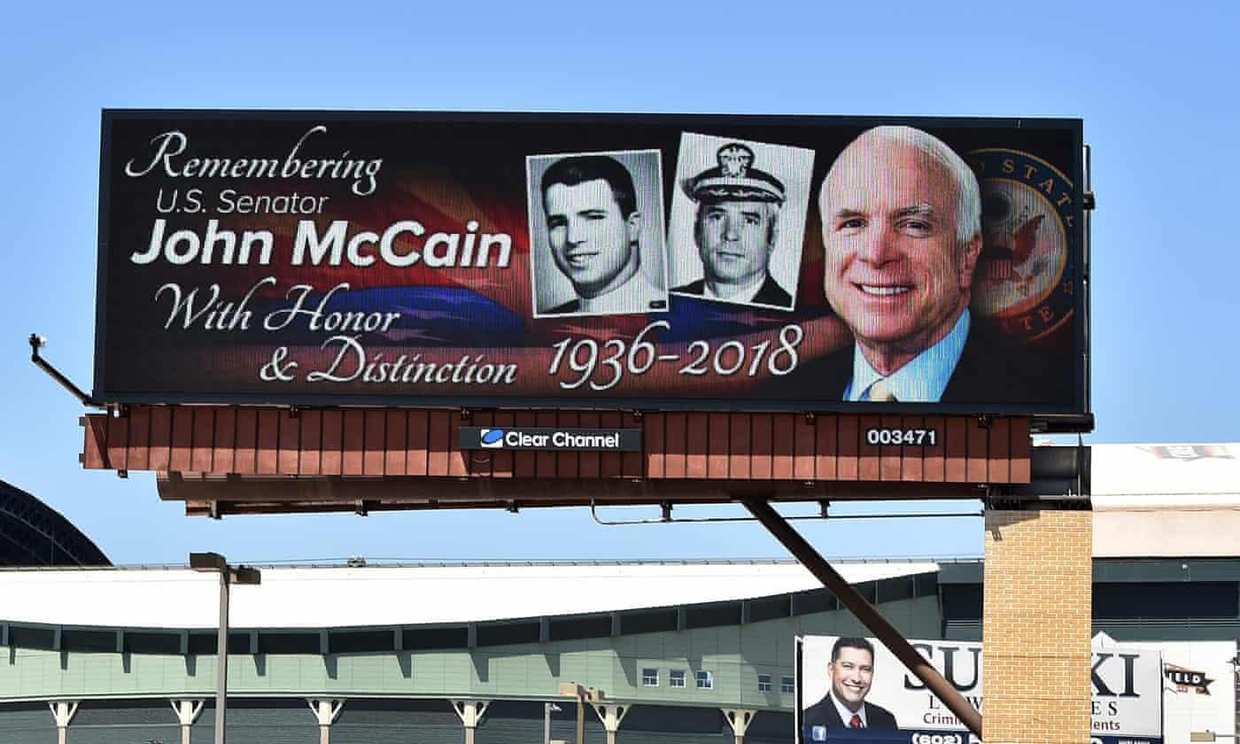 John McCain's farewell letter to America