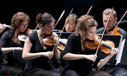 The Chamber Orchestra of Europe.