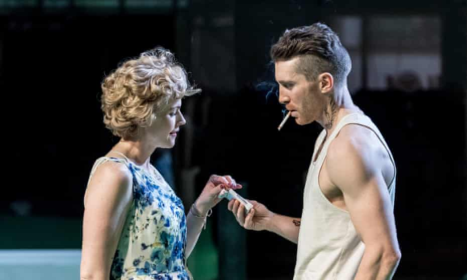 Maxine Peake and Ben Batt in A Streetcar Named Desire.