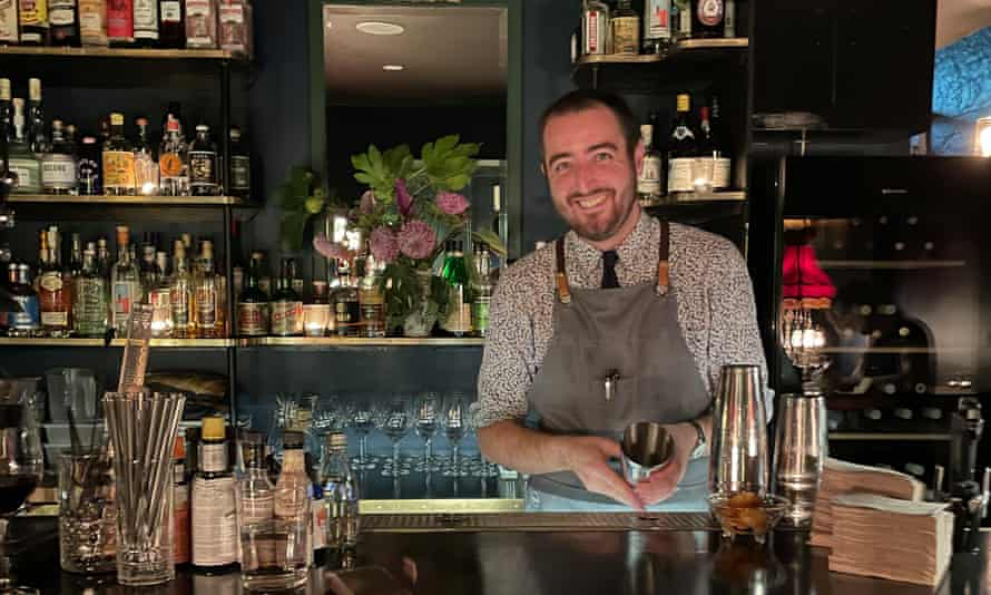 Chad Parkhil, owner of a cocktail bar Fakraskrim in Dreams in Trouble