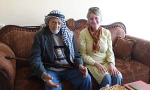 Ibrahim Mahmoud Saleh and Kate Adams
