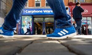 Carphone Warehouse shop in Manchester