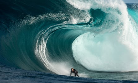 A new wave of memoirs … surfer off the west coast Australia.
