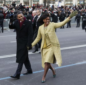 Isabel Toledo created former first lady Michelle Obama's standout dress and matching overcoat for Barack Obama's 2009 inauguration.