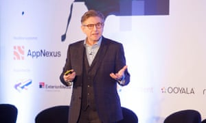 Keith Weed, chief marketing officer at Unilever speaks at the Guardian Changing Media Summit 2016.