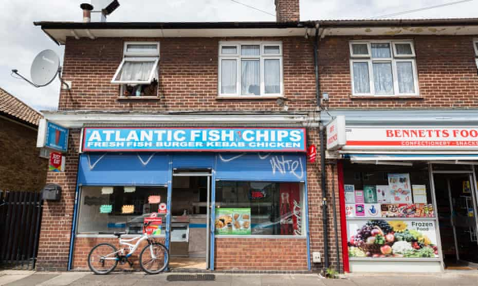 Business is hard and customers are hard-up, says Emon Ahmed, manager of Atlantic Fish & Chips.