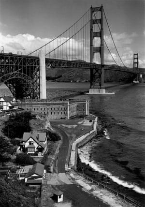 Golden Gate Bridge, San Francisco, CA 1948