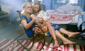 Scene from Mamma Mia, with Meryl Streep and Amanda Seyfried.