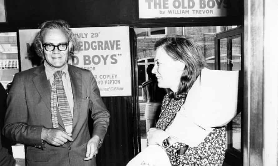 Robert Lowell and Caroline Blackwood, June 1971.