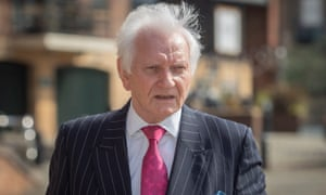 Harvey Proctor at Newcastle crown court for the sentencing of Carl Beech for perverting the course of justice.