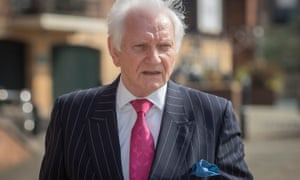 Former Tory MP Harvey Proctor at Newcastle crown court for the sentencing of Carl Beech last month