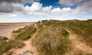 Haverigg Bank sand dunes.
