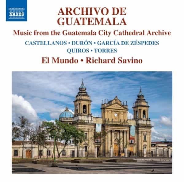The cover of Archivo de Guatemala
