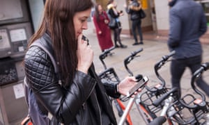 Rebecca Nicholson tries out the new scan and ride Mobike scheme in London.