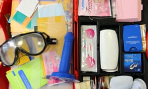 Contraceptive display kit