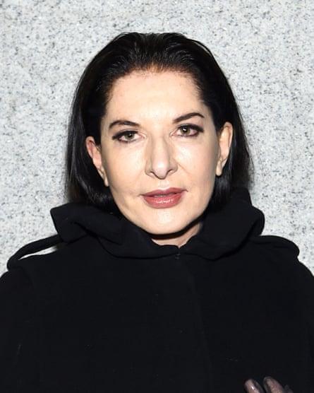 Marina Abramović.