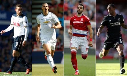 Vincent Janssen, Zlatan Ibrahimovic, Álvaro Negredo and Georginio Wijnaldum made their mark on the Premier League's opening weekend.