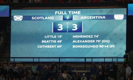 Scotland collapse, England move on and Totti hits out – Football Weekly Extra