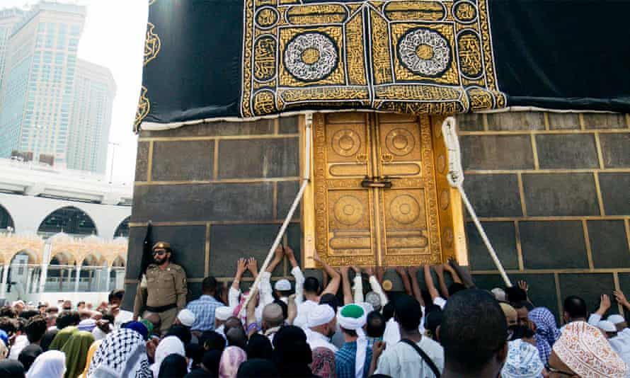 Worshippers inside Mecca's Great Mosque … One Day in The Haram