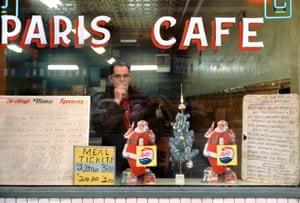 Paris Cafe, 1959  by Fred Herzog