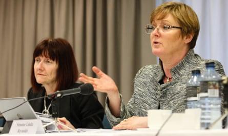 Rachel Siewert and Linda Reynolds