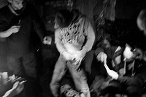Men take methamphetamine and heroin
