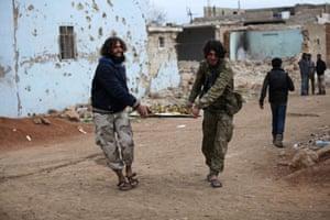 al-Rai, Syria Rebel fighters