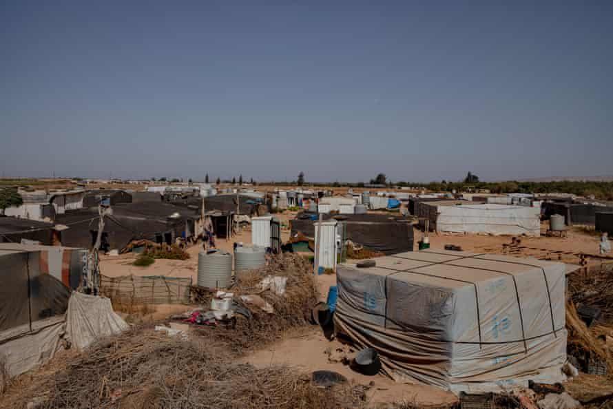 A camp for displaced Syrians