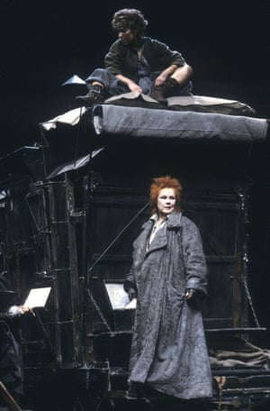 In 1984, the Royal Shakespeare staged Hanif Kureishi's new version of the play at the Barbican in London. Judi Dench played Mother Courage and Zoë Wanamaker was Kattrin, her daughter.