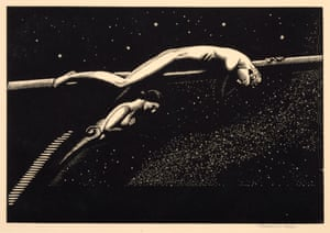 """Rockwell Kent, """"Over the Ultimate,"""" 1926. Engraving. Bequest of Mrs. Henry A. Everett. 1938"""