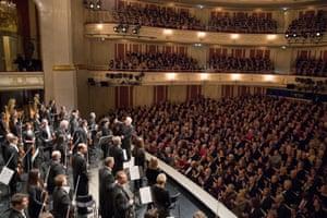 Applause for Daniel Barenboim and the Staatskapelle Berlin at the Staatsoper's 275th birthday concert.