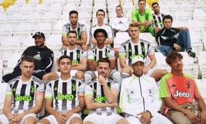 Sitting pretty: the Adidas Juventus Palace kit