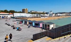 Hastings pier, East Sussex
