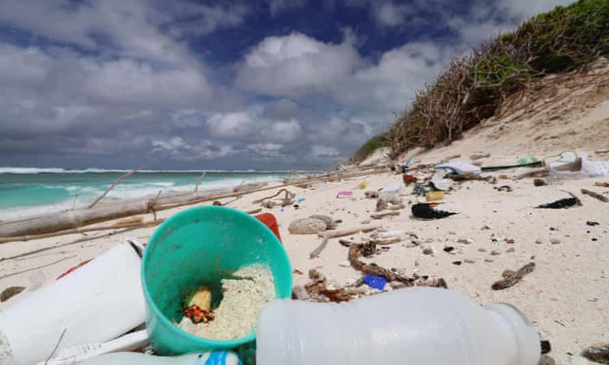 Plastic debris is heating up beaches in the Cocos (Keeling) Islands. A study has warned that rising temperatures caused by plastic could have devastating impacts on wildlife.