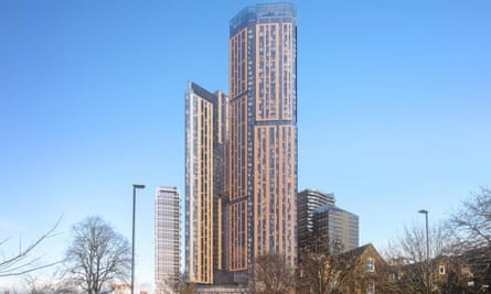The KPF proposals for a skyscraper in Ealing