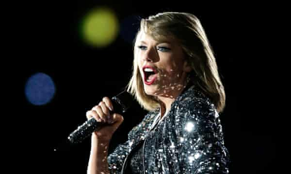 Taylor Swift, who banned streaming of her work.