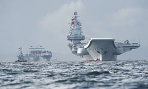 China's sole aircraft carrier, the Liaoning